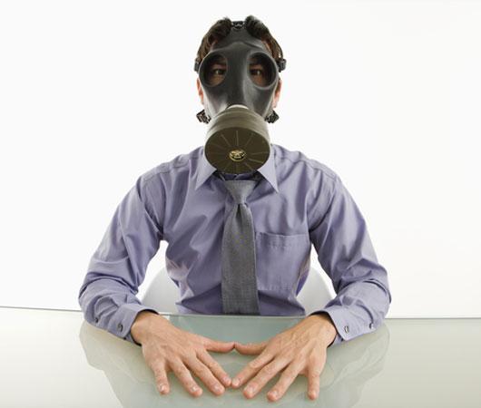 powietrze w biurze