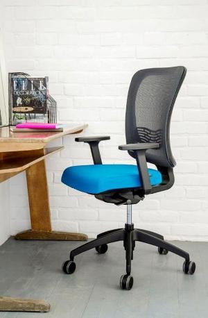 ICON – krzesło obrotowe z oparciem z siatki