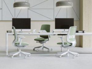 Krzesło biurowe LightUp biale